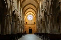 Abadía de Fossanova Imagen de archivo