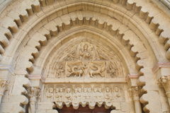 Abadía de Ganagobie Imágenes de archivo libres de regalías