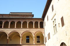 Abadía de Ganagobie Imagen de archivo libre de regalías