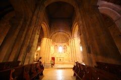 Abadía de Ganagobie Foto de archivo