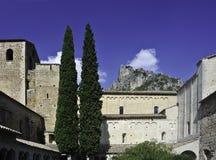 Abadía de Gellone Fotografía de archivo libre de regalías