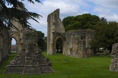 Abadía de Glastonbury Fotos de archivo libres de regalías