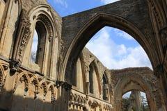 Abadía de Glastonbury Fotos de archivo