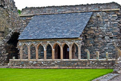 Abadía de Glenluce Foto de archivo