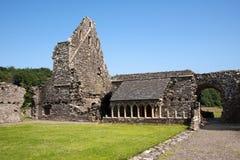 Abadía de Glenluce Imágenes de archivo libres de regalías
