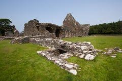 Abadía de Glenluce Foto de archivo libre de regalías