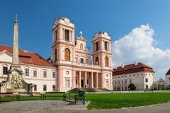 Abadía de Goettweig - monasterio benedictino cerca de Krems en una Austria más baja Foto de archivo libre de regalías