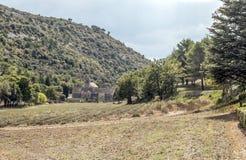 Abadía de Gordes Imagen de archivo libre de regalías