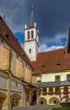 Abadía de Goss, Leoben, Austria Imágenes de archivo libres de regalías