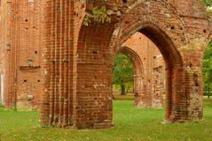 Abadía de Greifswald Foto de archivo