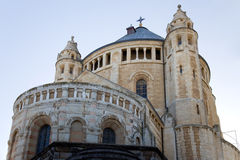 Abadía de Hadia Maria Sion Imagen de archivo libre de regalías