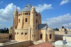 Abadía de Hagia Maria Sion Foto de archivo libre de regalías
