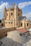 Abadía de Hagia Maria Sion Foto de archivo