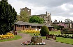 Abadía de Hexham Fotografía de archivo libre de regalías