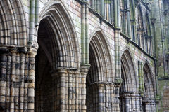 Abadía de Holyrood, Edimburgo Fotografía de archivo