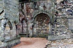 Abadía de Holyrood, Edimburgo Foto de archivo libre de regalías