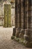 Abadía de Holyrood - Edimburgo Foto de archivo libre de regalías