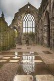 Abadía de Holyrood - Edimburgo Fotografía de archivo
