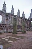 Abadía de Holyrood en Edimburgo, Escocia Fotos de archivo libres de regalías