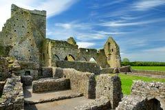 Abadía de Hore, monasterio cisterciense arruinado cerca de la roca de Cashel, Irlanda Foto de archivo
