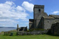 Abadía de Inchcolm Fotos de archivo