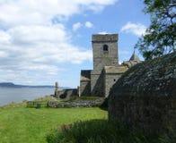 Abadía de Inchcolm Imagen de archivo libre de regalías