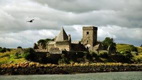 Abadía de Inchcolm Foto de archivo libre de regalías