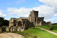 Abadía de Inchcolm Imágenes de archivo libres de regalías