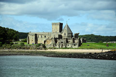 Abadía de Inchcolm Imagen de archivo
