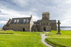 Abadía de Iona Imagenes de archivo