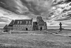 Abadía de Iona Imágenes de archivo libres de regalías