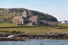 Abadía de Iona del mar Imagenes de archivo