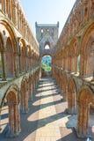 Abadía de Jedburgh Fotos de archivo libres de regalías