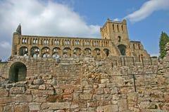 Abadía de Jedburgh Foto de archivo libre de regalías