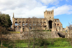 Abadía de Jedburgh en la frontera de Escocia Imagen de archivo libre de regalías