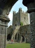 Abadía de Jerpoint Imagen de archivo libre de regalías