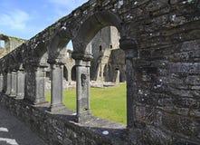 Abadía de Jerpoint Foto de archivo