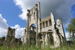 Abadía de Jumieges Foto de archivo libre de regalías
