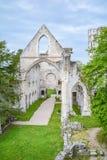Abadía de Jumieges, monasterio benedictino arruinado en Normandía, Francia Fotos de archivo libres de regalías