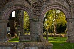 Abadía de Kelso Foto de archivo libre de regalías