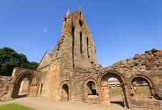 Abadía de Kilwinning Foto de archivo libre de regalías