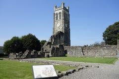 Abadía de Kilwinning Fotografía de archivo libre de regalías