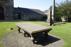 Abadía de Kilwinning Fotos de archivo libres de regalías