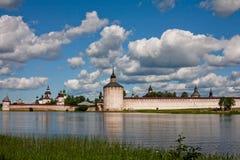 Abadía de Kirillov Foto de archivo