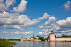 Abadía de Kirillov Fotografía de archivo