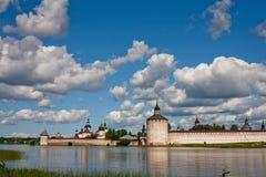 Abadía de Kirillov Fotografía de archivo libre de regalías