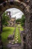 Abadía de Kirkstall Fotografía de archivo