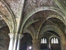 Abadía de Kirkstall en Leeds Imagen de archivo libre de regalías
