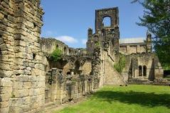 Abadía de Kirkstall, Leeds, Gran Bretaña Fotos de archivo