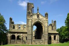 Abadía de Kirkstall, Leeds, Gran Bretaña Imagenes de archivo